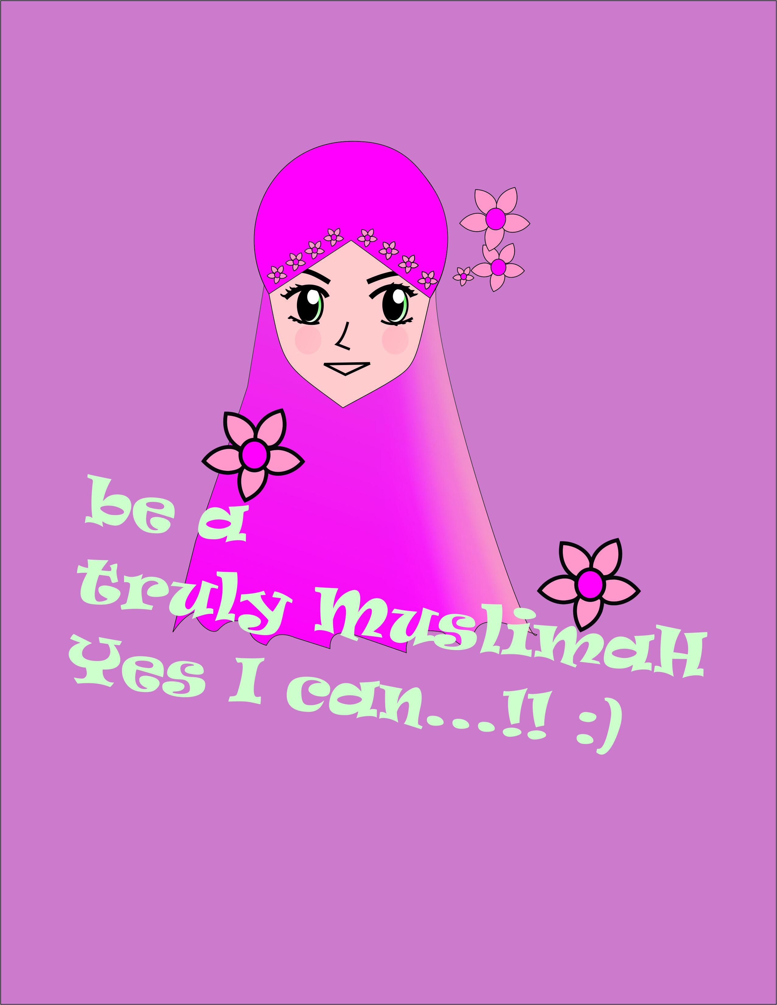 Gambar Muslimah Catatan Lilia